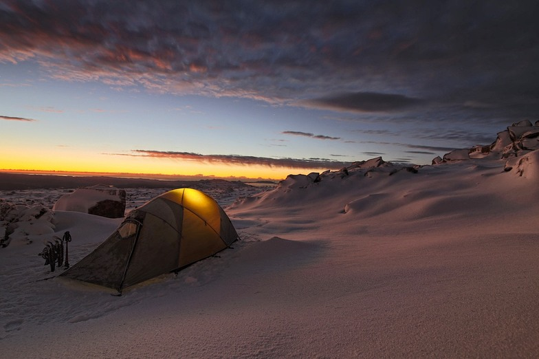 Australia Winter Sunrise, Ben Lomond