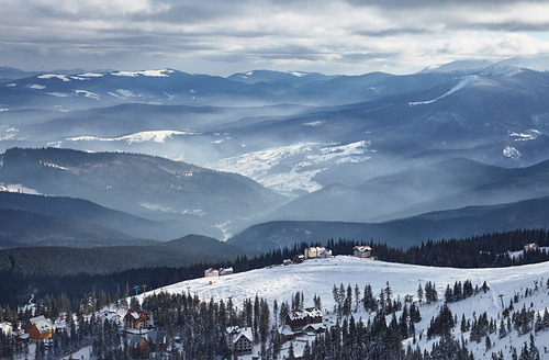 Drahobrat Ski Resort by: Kalya