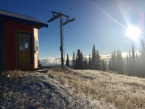 Frosty -5 morning at Silver Star, SilverStar photo