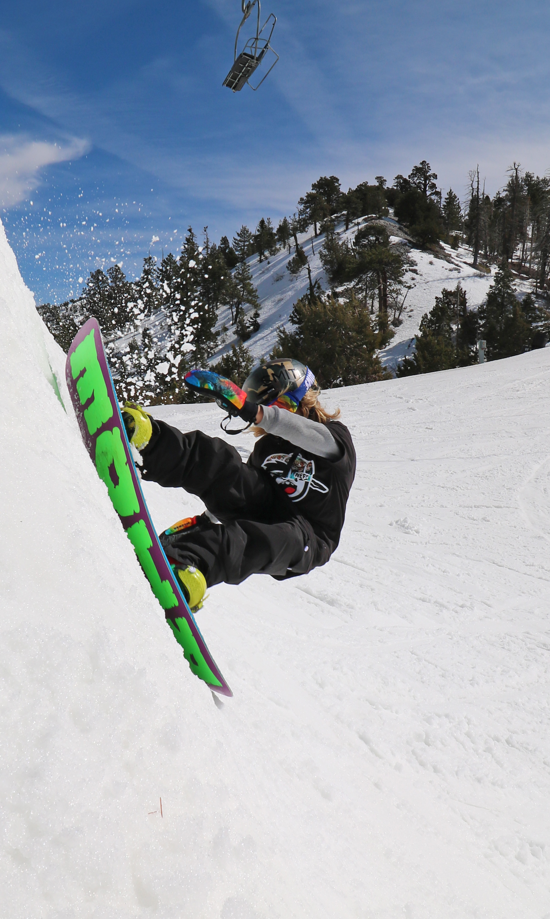 Rocco Jamieson big bear slash, Big Bear Mountain