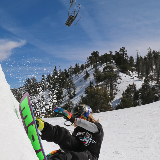 Rocco Jamieson big bear slash, Big Bear Mountain