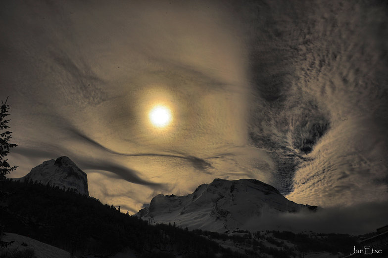 Voluptes nuageuses, Gourette