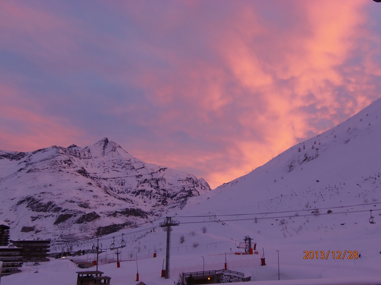 Sunrise, Obergurgl
