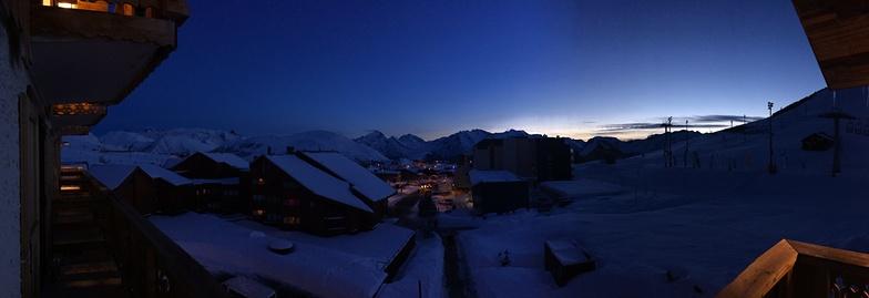 Sunset, Alpe d'Huez
