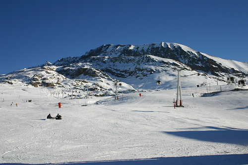Alpe d'Huez Ski Resort by: paul.burroughs1