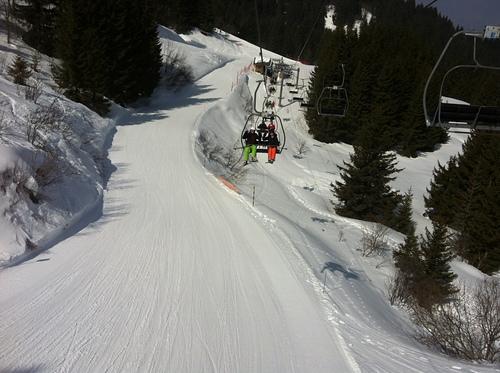Les Carroz Ski Resort by: Georgie