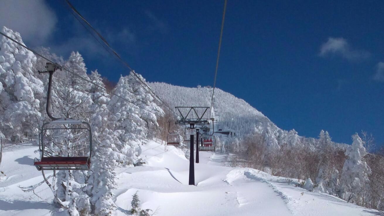 Mt.Yokote 2307m, Shiga Kogen-Yokoteyama