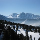 A view from Chamrousse