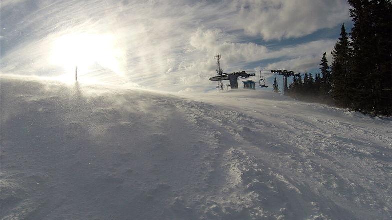 End of day!, Ski La Reserve