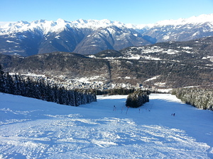Valscesa  - black slope, Aprica photo