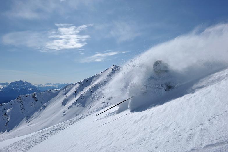 Marmot Basin powder