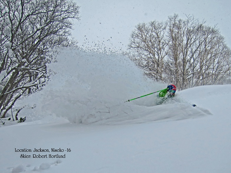 POW in Jackson!, Niseko Hanazono Resort