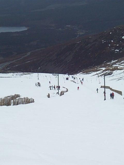late afternoon on cairngorm