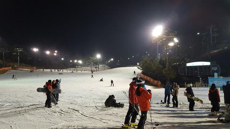 Oak Valley Ski Resort snow