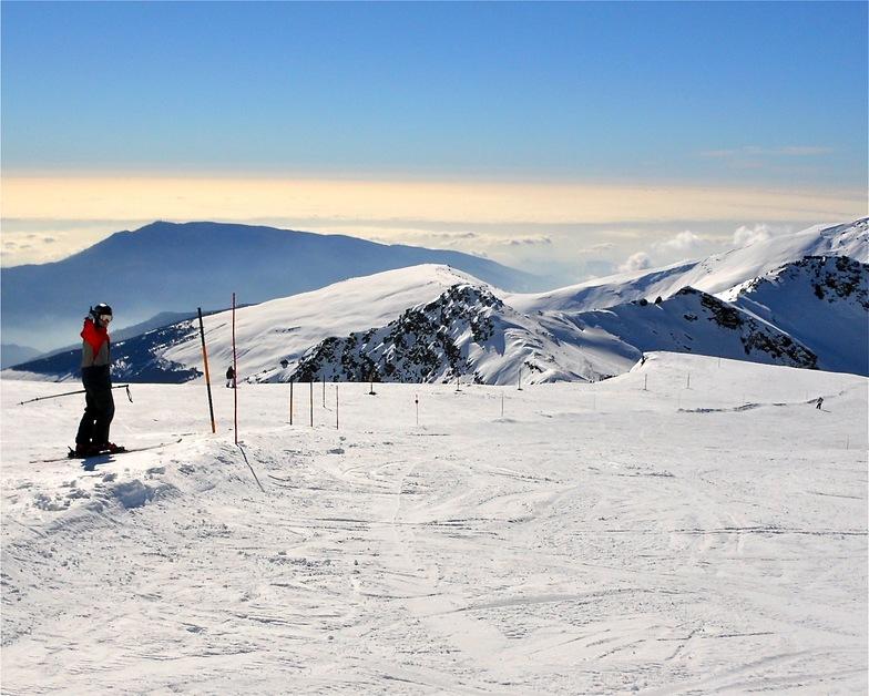 Top of the Sierra Nevada resort 3.200m last Monday