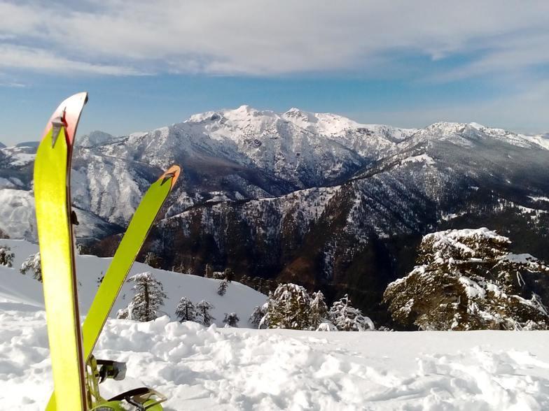 Smolikas mountain (2672m) in the background, Vasilitsa