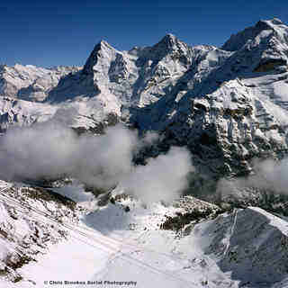 View from Birg 2677m, Mürren