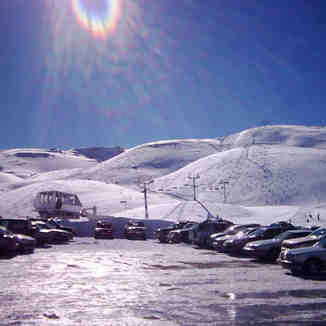 Faraya parking, Lebanon, Mzaar Ski Resort