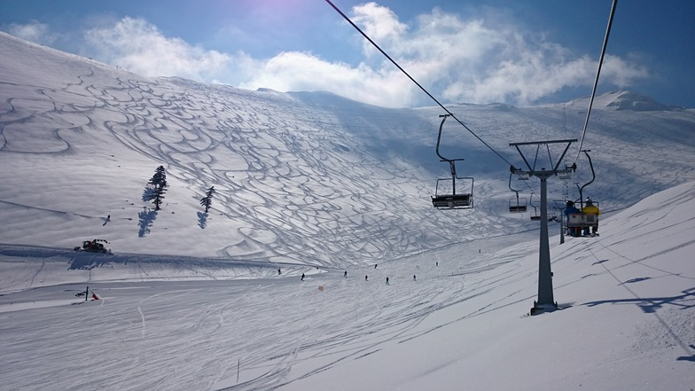 Helmos, Kalavrita, Greece., Kalavryta Ski Resort