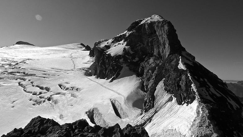 Le chemin du Glacier des Diablerets, Gstaad Glacier 3000