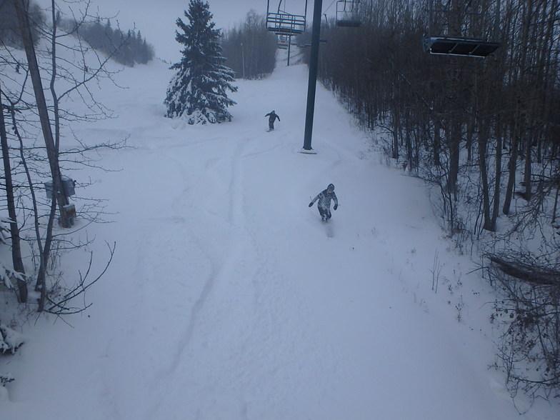 Canyon Ski Area snow