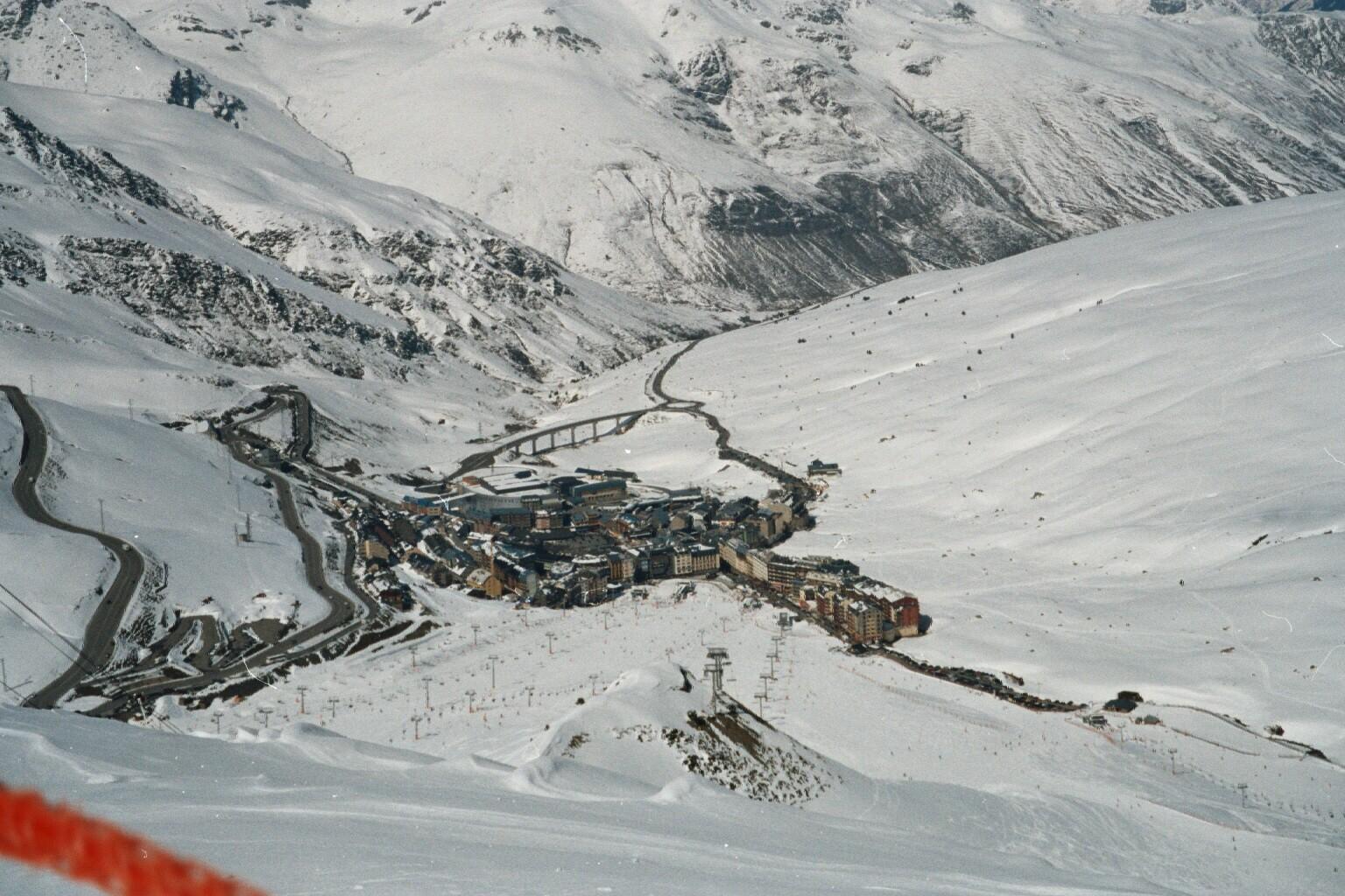 Pas de la Casa - View from Top Station, Grandvalira-Pas de la Casa