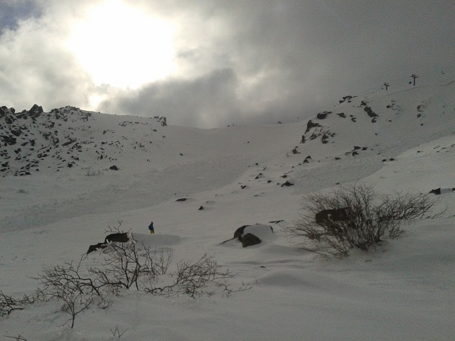 two avalanches, Vitosha