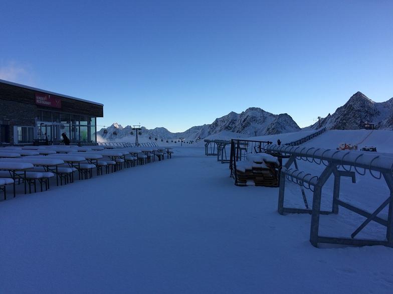 Morning in Stubai Gletscher, Stubai Glacier