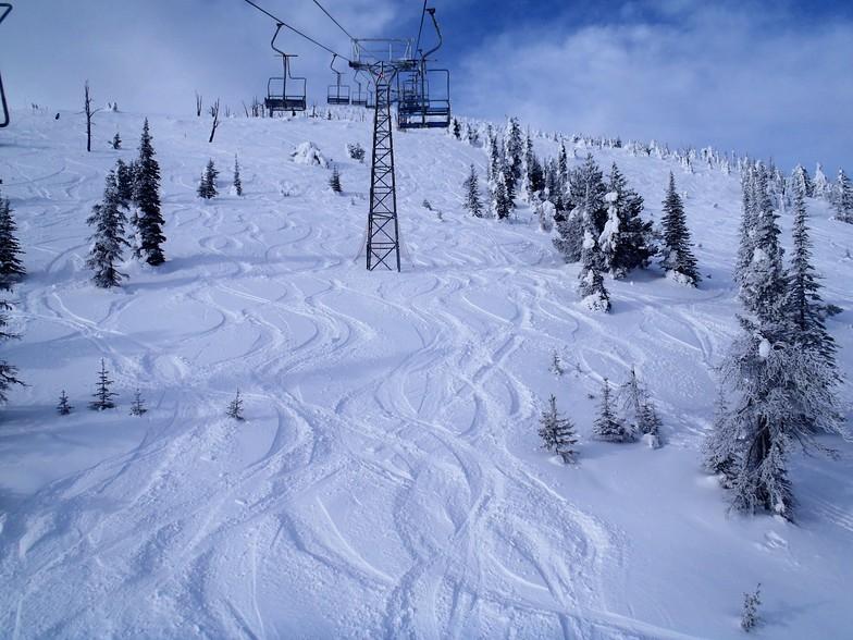Nice dusting of snow, Mt Baldy Ski Area