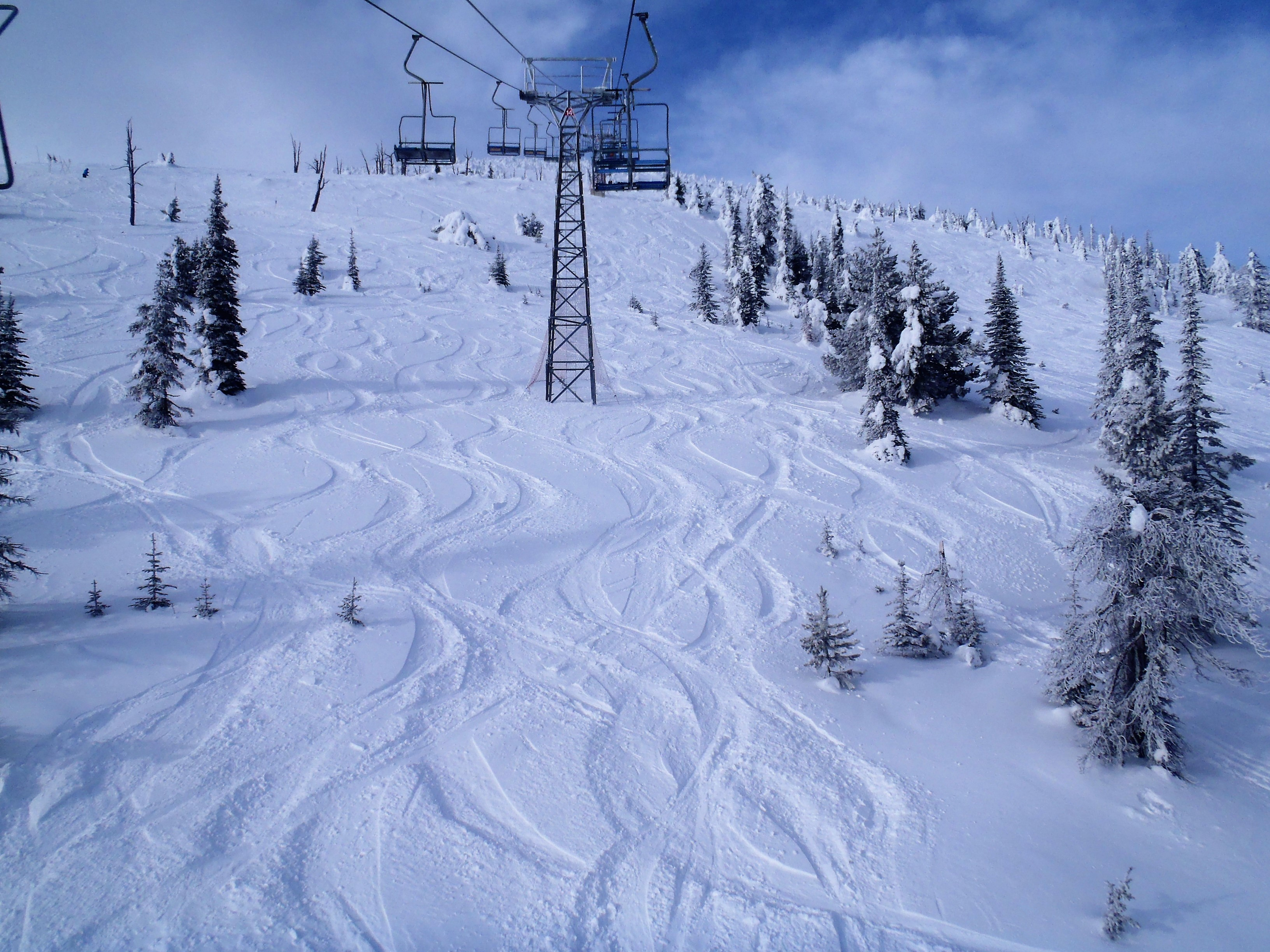 Nice dusting of snow, Baldy Mountain Resort
