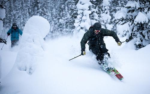 Chatter Creek Ski Resort by: Steve