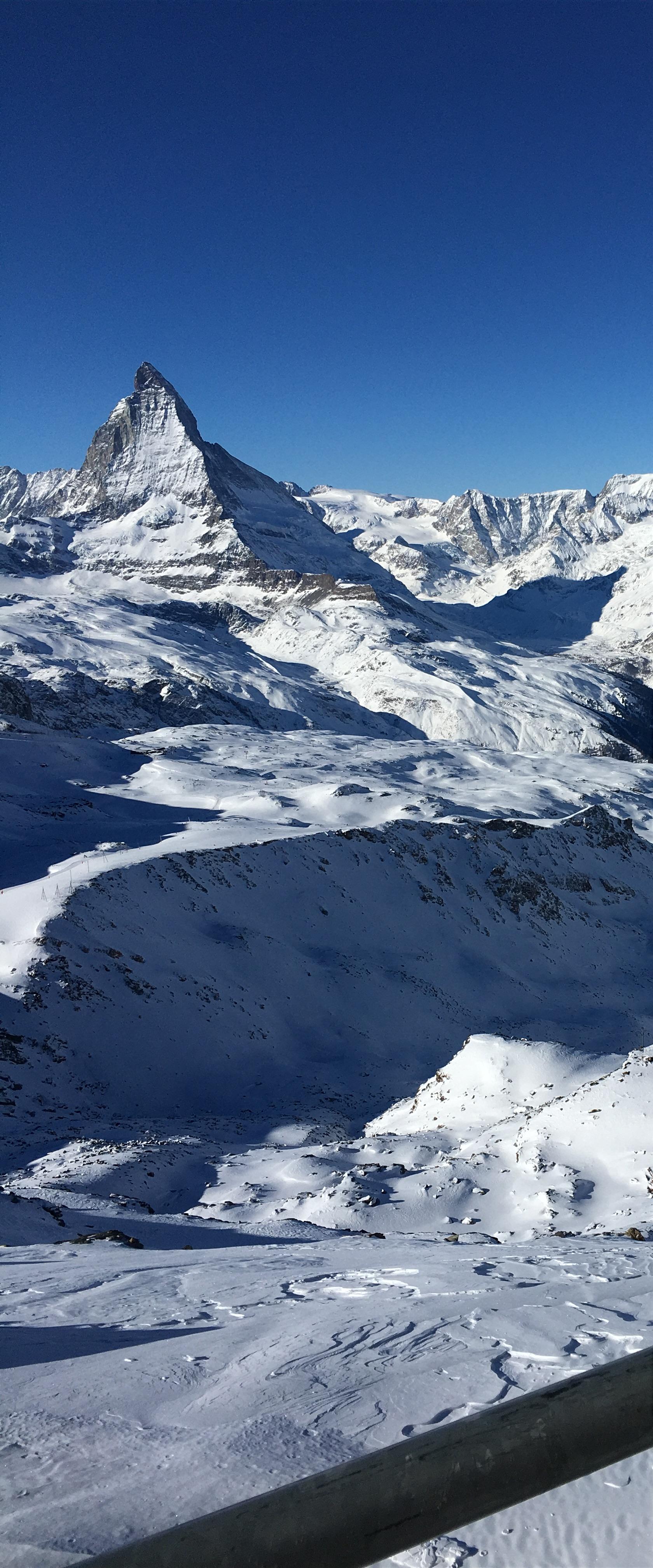 January 2017, Zermatt