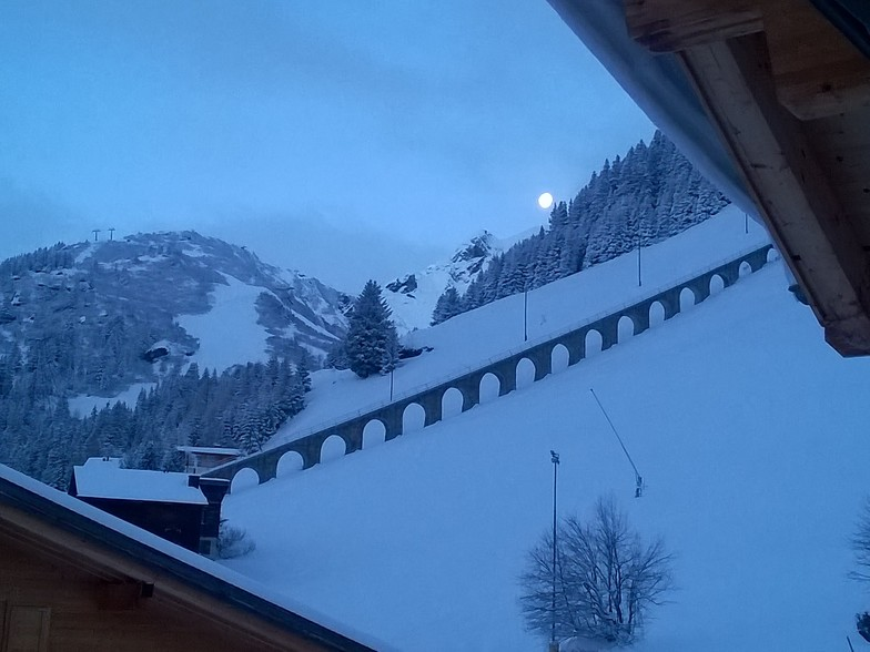 early morning in january 2017, Mürren