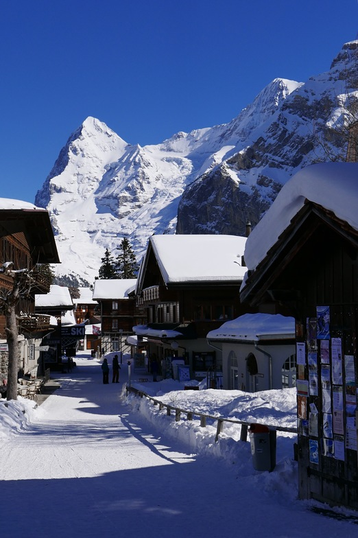 classic shot of Murren, Mürren