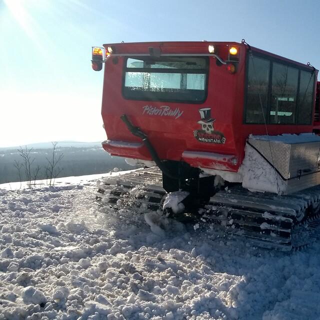 Cat Skiing on VooDoo Mountain, Mt. Bohemia, Mount Bohemia