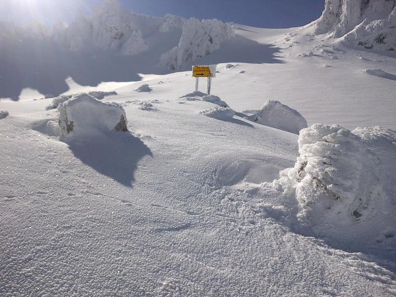 Davrazın Kayak Merkezinin Kralı Keçi Kayası 2444 metre