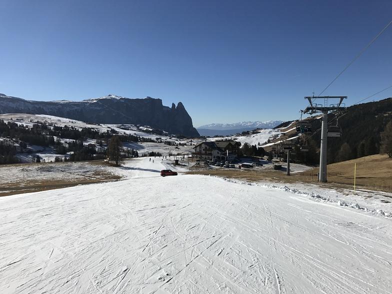 Alpe di Siusi snow