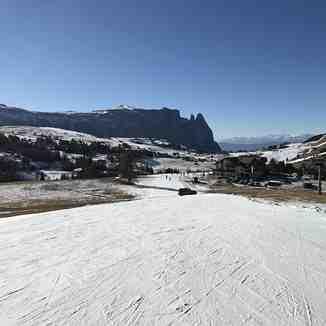 crossing, Alpe di Siusi