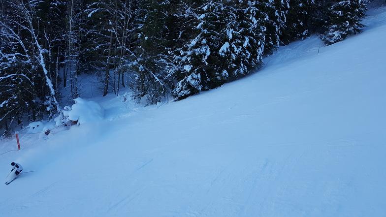 Oberstdorf-Nebelhorn snow