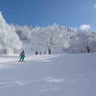Snow in Mont SUTTON