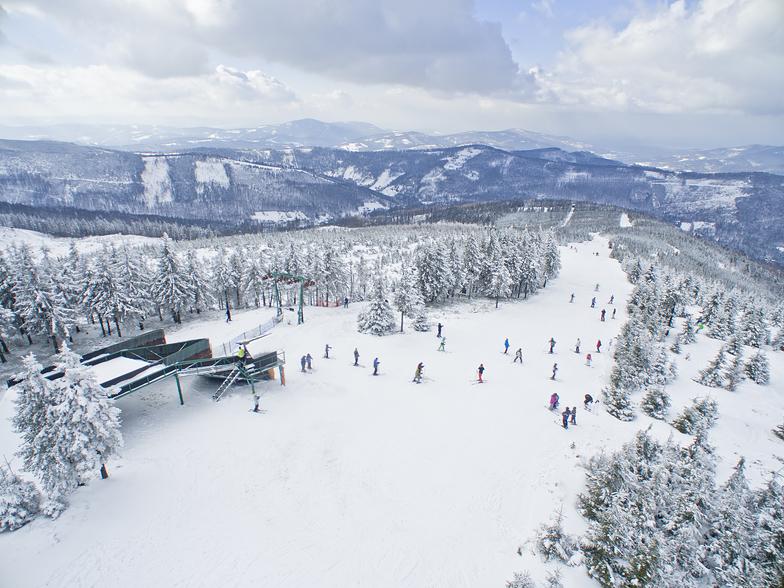 Szczyrkowski Ośrodek Narciarski snow