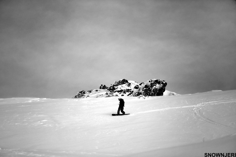 Njomzas monochrome ride, Brezovica