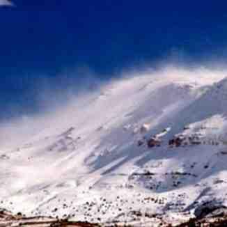 Lebanon, Mzaar Ski Resort