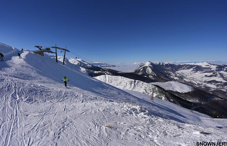 The top lift, Brezovica