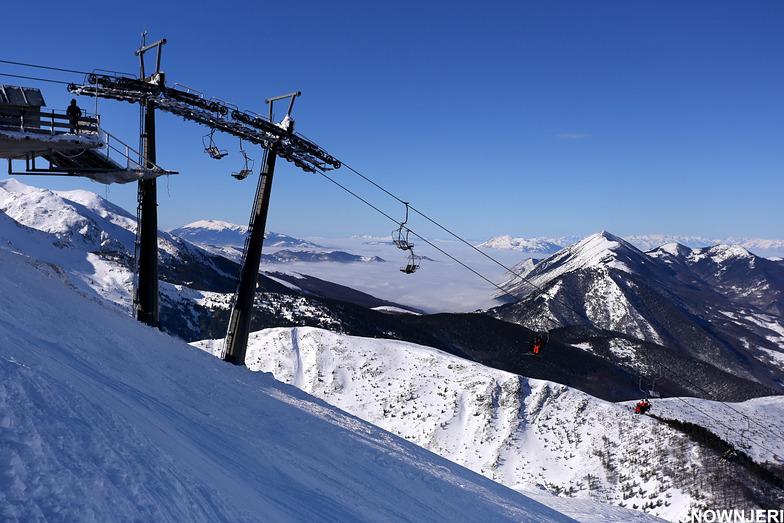 The lift and the horizon, Brezovica