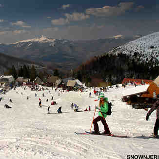 Brezovica center during March