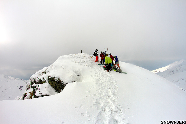 The peak of Brezovica