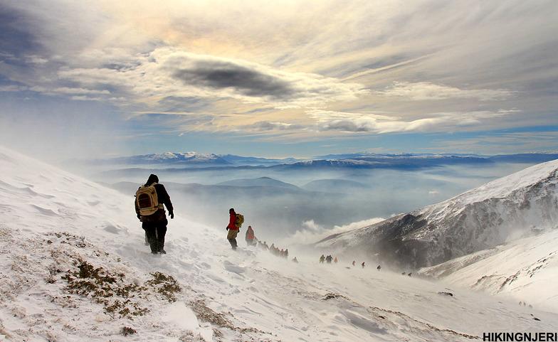 Heavenly hike in Brezovica