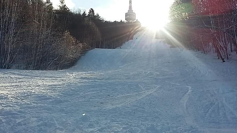 Slope 1 from the middle, Pécsi Sípálya