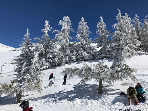 Mzaar Ski Resort Ski Resort by: Wissam Chehab